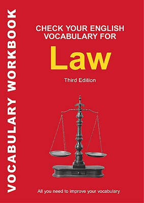 Image for Check Your English Vocabulary for Law  All You Need to Improve Your Vocabulary