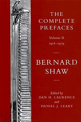 Image for The Complete Prefaces: Volume 2: 1914-1929 (Vol 2) FIRST EDITION
