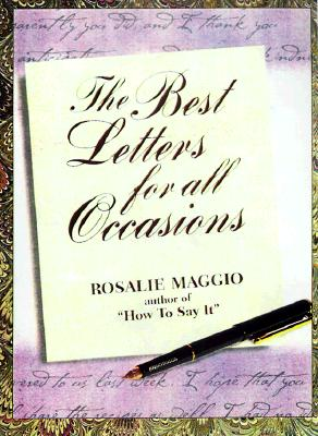 Great Letters for Every Occasion, Maggio, Rosalie