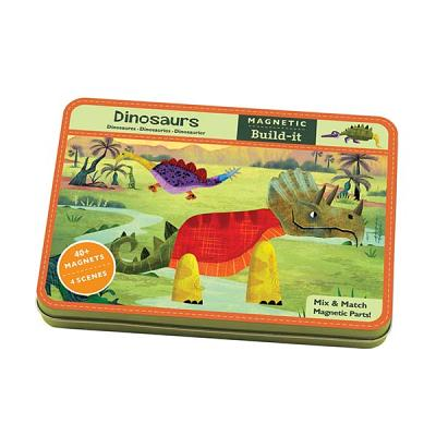 Image for DINOSAURS MAGNETIC BUILD-ITS