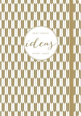 Image for Modern Gold Ideas Gilded Journal