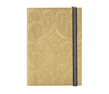 Image for Gold A5 Paseo Notebook