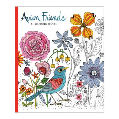 Image for Avian Friends Coloring Book