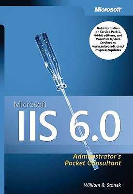 Image for Microsoft IIS 6.0 Administrator's Pocket Consultant
