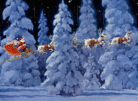 Image for 'Twas the Night Before Christmas Advent Calendar
