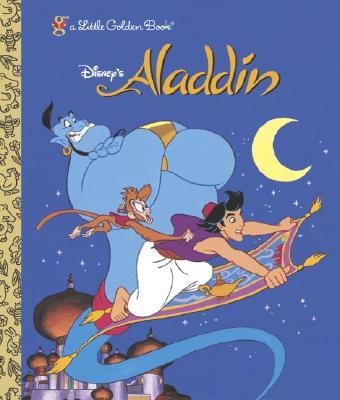 Aladdin (Disney Aladdin) (Little Golden Book), Kreider, Karen; Baker, Darrell [Illustrator]