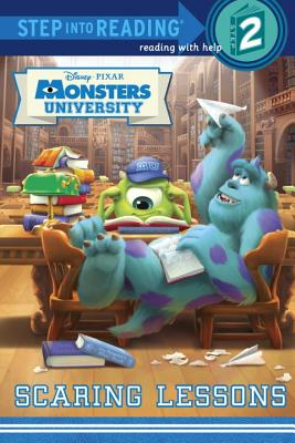Image for Scaring Lessons (Disney/Pixar Monsters University) (Step into Reading)