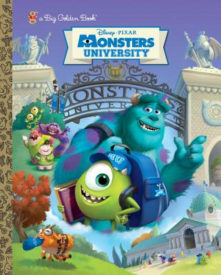 Image for Monsters University Big Golden Book (Disney/Pixar Monsters University) (a Big Golden Book)