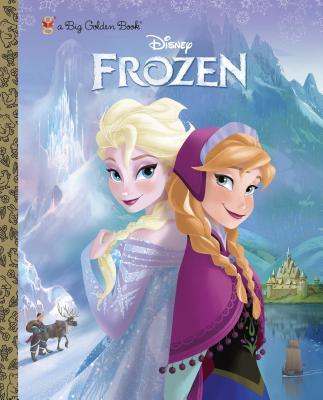 Frozen Big Golden Book (Disney Frozen) (a Big Golden Book), RH Disney