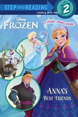 ANNA'S BEST FRIENDS (DISNEY FROZEN) (STEP INTO READING, STEP 2), WEBSTER, CHRISTY