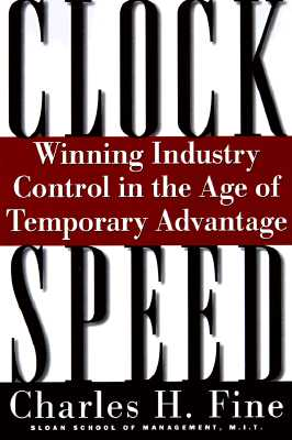 Image for Clockspeed: Winning Industry Control In The Age Of Temporary Advantage