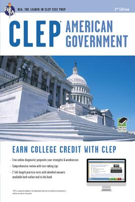 Image for CLEP® American Government Book + Online (CLEP Test Preparation)