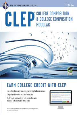 CLEP College Composition 2nd Ed.,  Book + Online (CLEP Test Preparation), Smith, Rachelle; Marulllo, Dominic; Springer, Ken; CLEP