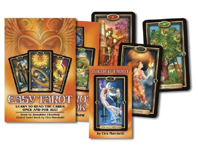 Easy Tarot: Learn to Read the Cards Once and For All!, Ellershaw, Josephine; Marchetti, Ciro