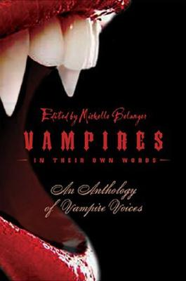 Image for VAMPIRES IN THEIR OWN WORDS