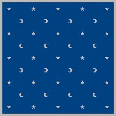 Moon & Stars Velvet Cloth, Lo Scarabeo