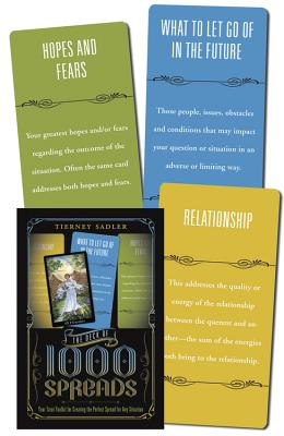 The Deck of 1000 Spreads: Your Tarot Toolkit for Creating the Perfect Spread for Any Situation, Sadler, Tierney