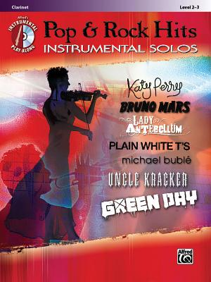 Image for Today's Pop & Rock Hits Instrumental Solos: Clarinet (Book & CD) (Pop Instrumental Solo Series)