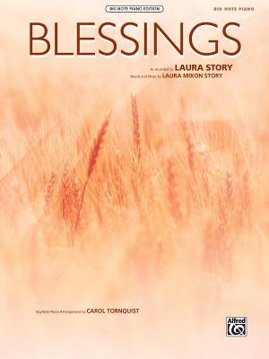 Blessings: Big Note Piano, Sheet