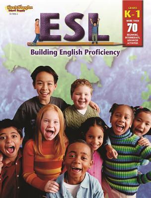 Image for ESL: Building English Proficiency: Reproducible Grades K-1