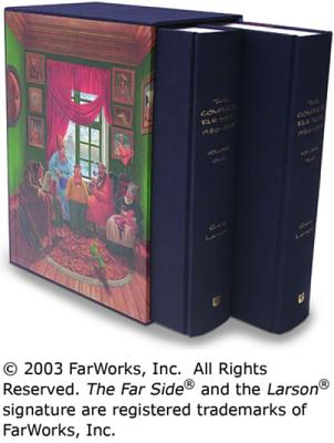 Image for The Complete Far Side: 1980-1994  (2 Volume Set in slipcase)