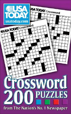 Image for USA TODAY Crossword: 200 Puzzles from The Nation's No. 1 Newspaper (USA Today Puzzles)