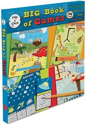 Flip & Click Big Book of Games: 100 Games, Cole, Jeff