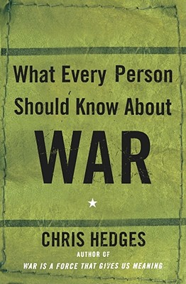 Image for What Every Person Should Know About War
