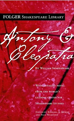 Image for Antony and Cleopatra (Folger Shakespeare Library Series)
