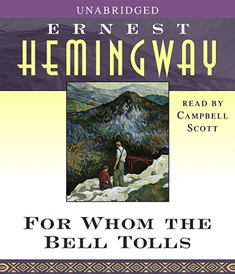FOR WHOM THE BELL TOLLS (AUDIO) UNABRIDGED ON 16 CD'S, HEMINGWAY, ERNEST