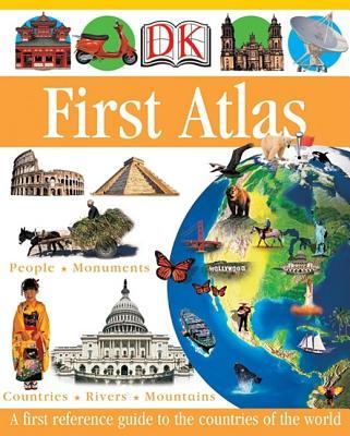 DK First Atlas (DK First Reference Series), Anita Ganeri, Chris Oxlade