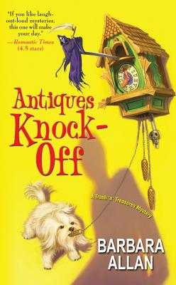 Image for Antiques Knock-Off (Trash 'n' Treasures Mysteries)