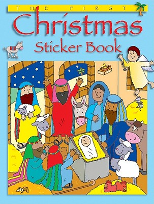 The First Christmas Sticker Book, Bethan James, Jenny Tulip