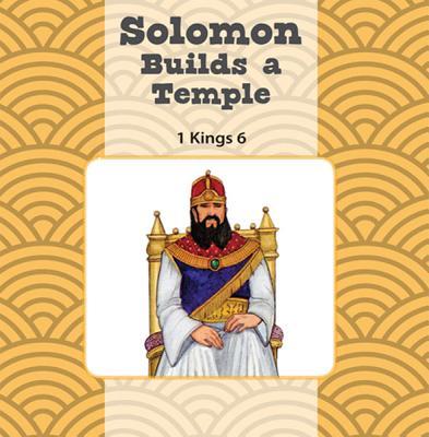 Solomon Builds the Temple / King Josiah Finds the Bible Flip Book, Sara Mulso; Heidi Rowan