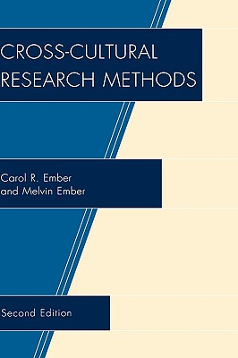 Image for Cross-Cultural Research Methods