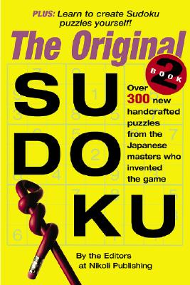 The Original Sudoku Book 2 (Bk. 2), Editors of Nikoli Publishing