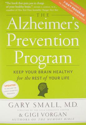 Image for The Alzheimer's Prevention Program: Keep Your Brain Healthy for the Rest of Your Life