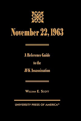 Image for November 22, 1963: A Reference Guide to the JFK Assassination