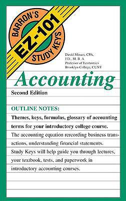 Image for Accounting (EZ-101 Study Keys)