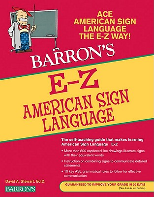 E-Z AMERICAN SIGN LANGUAGE, DAVID A. STEWART