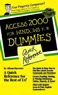 Image for Access 2000 for Windows For Dummies Quick Reference