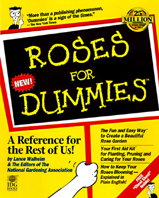Image for Roses For Dummies