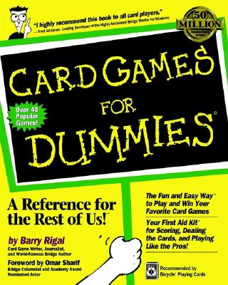 Image for Card Games for Dummies (For Dummies (Lifestyles Paperback))