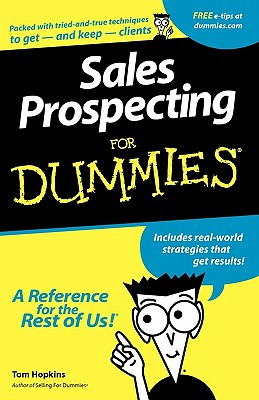 Image for Sales Prospecting For Dummies