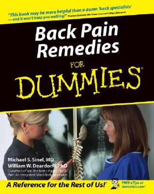 Image for Back Pain Remedies For Dummies