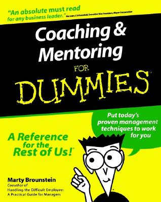 Image for Coaching and Mentoring For Dummies