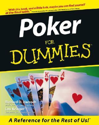 """Poker For Dummies, """"Harroch, Richard D., Krieger, Lou"""""""