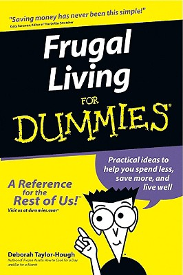 Frugal Living For Dummies, Taylor-Hough, Deborah
