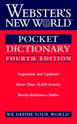 Image for Webster's New World Pocket Dictionary, Fourth Edition