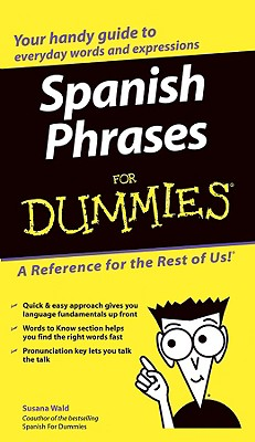 Image for SPANISH PHRASES FOR DUMMIES
